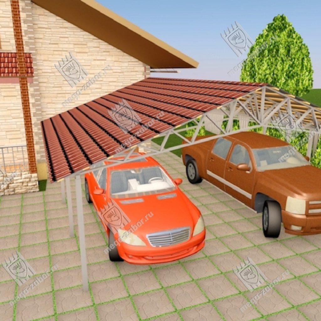 Навесы для автомобиля 8