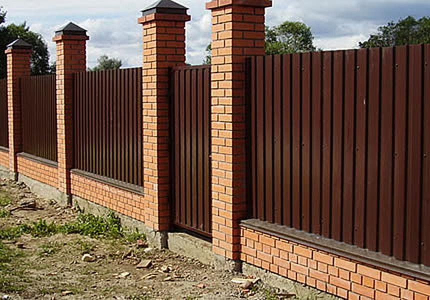 Построить забор