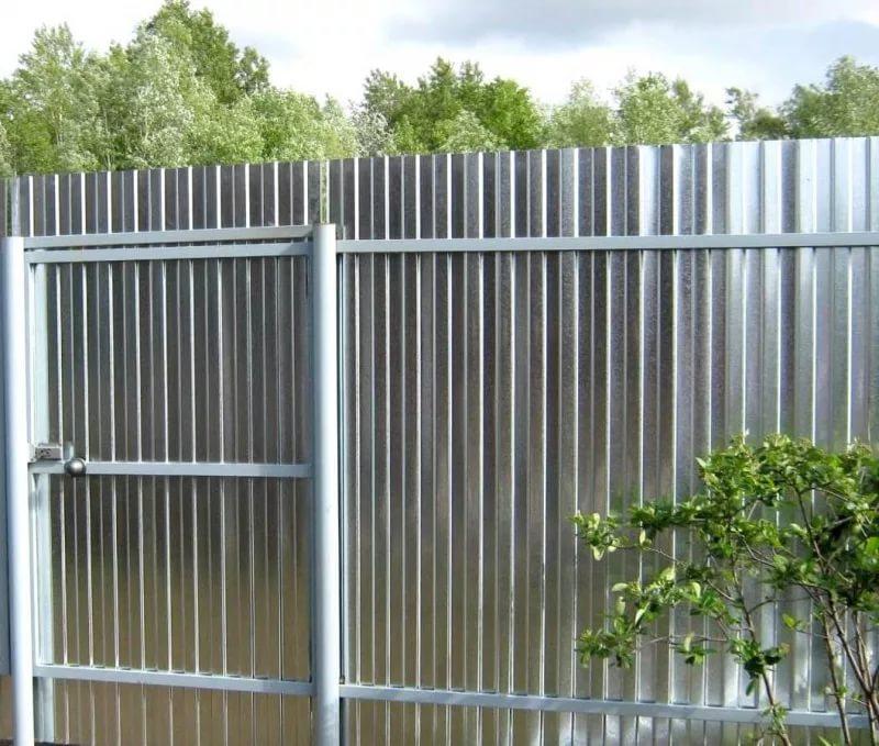Дешёвый забор и его установка 2