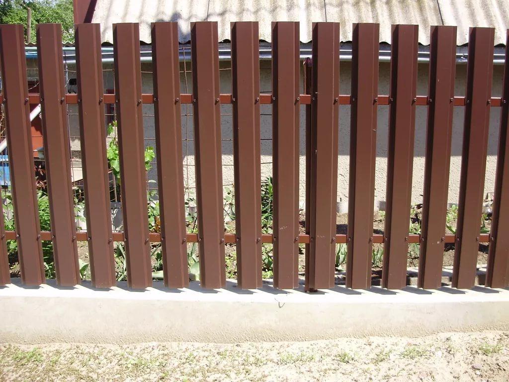 Дешёвый забор и его установка 3