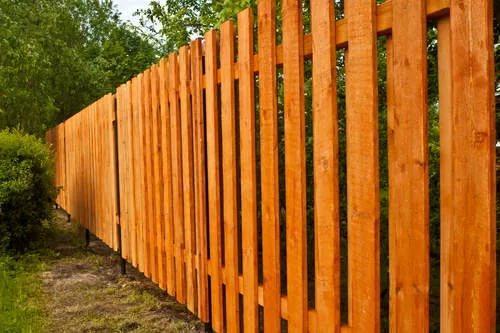 Дешёвый забор и его установка 4