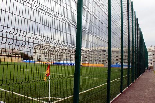 Спортивное ограждение для футбольной площадки