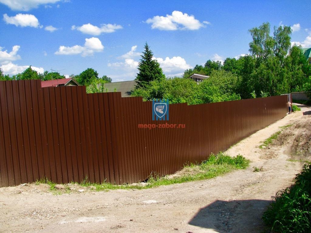 Заборы в Орехово-Зуево 1